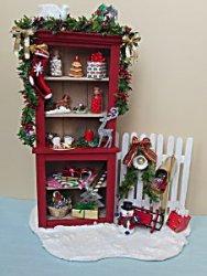 Dollhouse Miniature Christmas Holiday Card Set of 8 ~ SC731